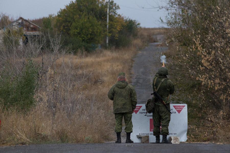 Разведение сил в Донецкой области