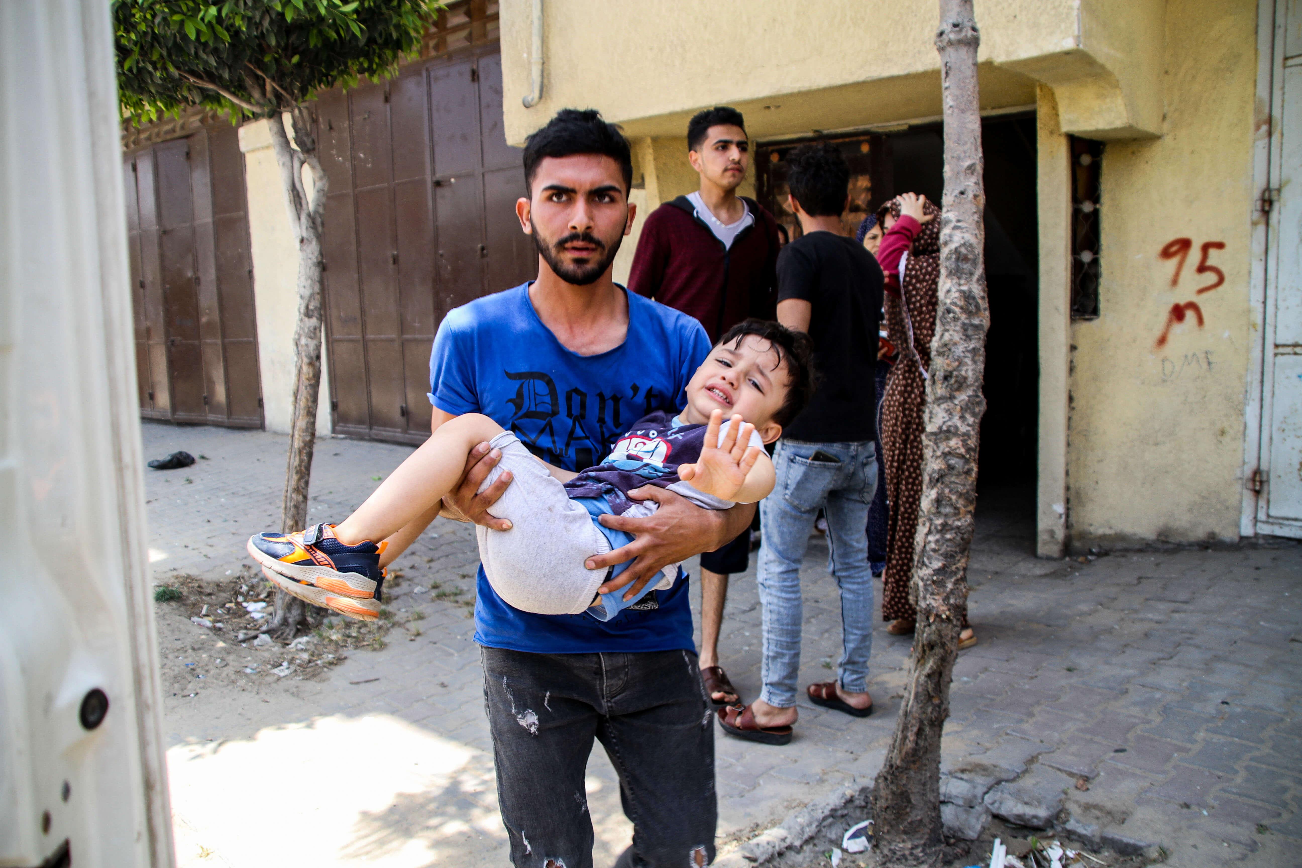 Палестинская территория. Ahmad Hasaballah / Keystone Press Agency / Global Look Press
