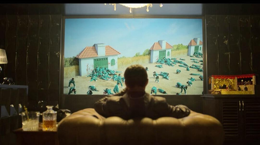 """Фото: кадр из сериала """"Игра в кальмара"""""""