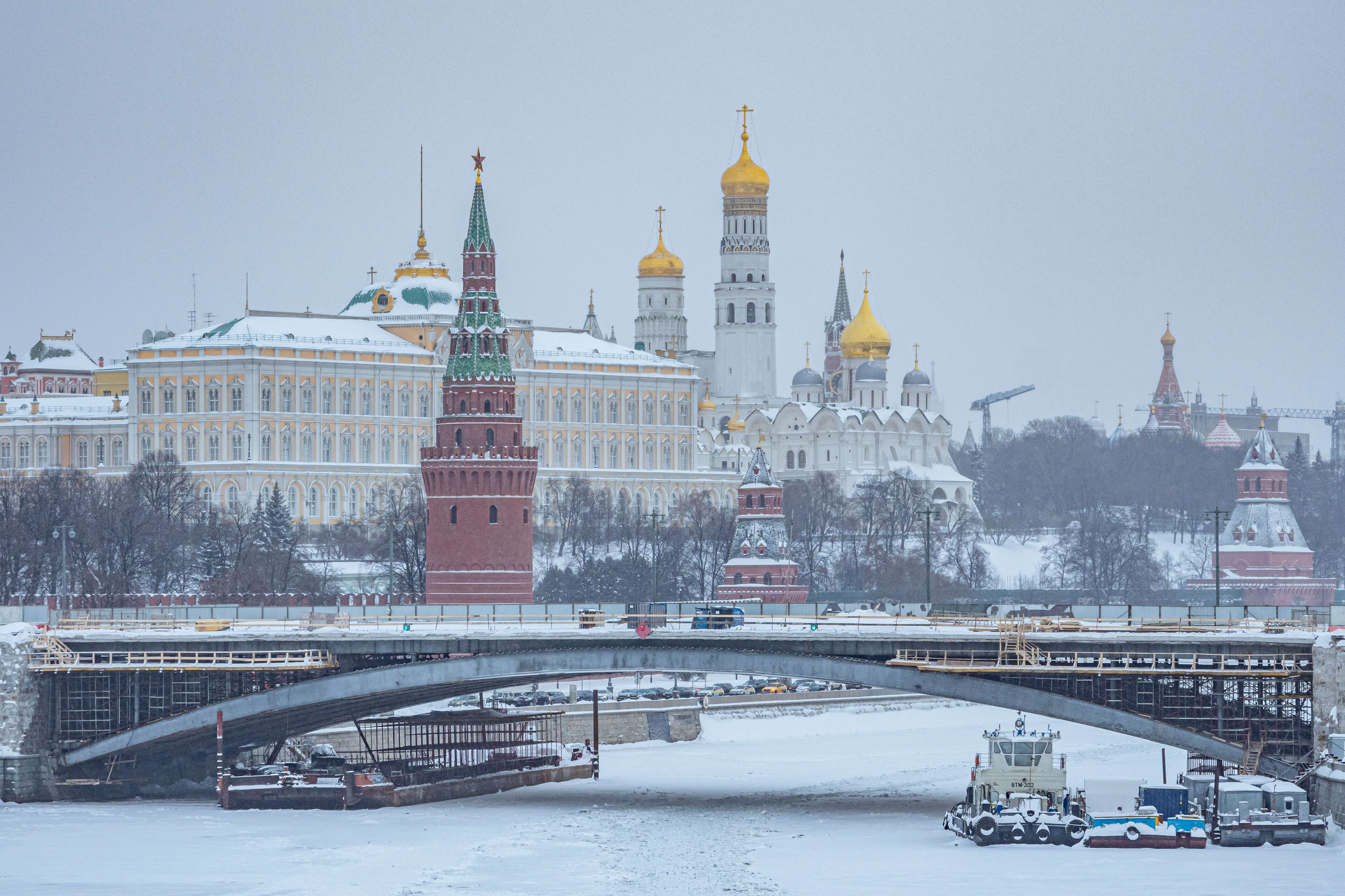Moscow hit by snowfall Konstantin Kokoshkin/Global Look Press