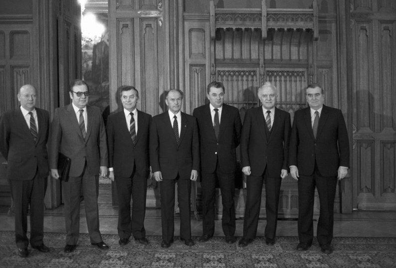Подписание Варшавского договора в 1955 году