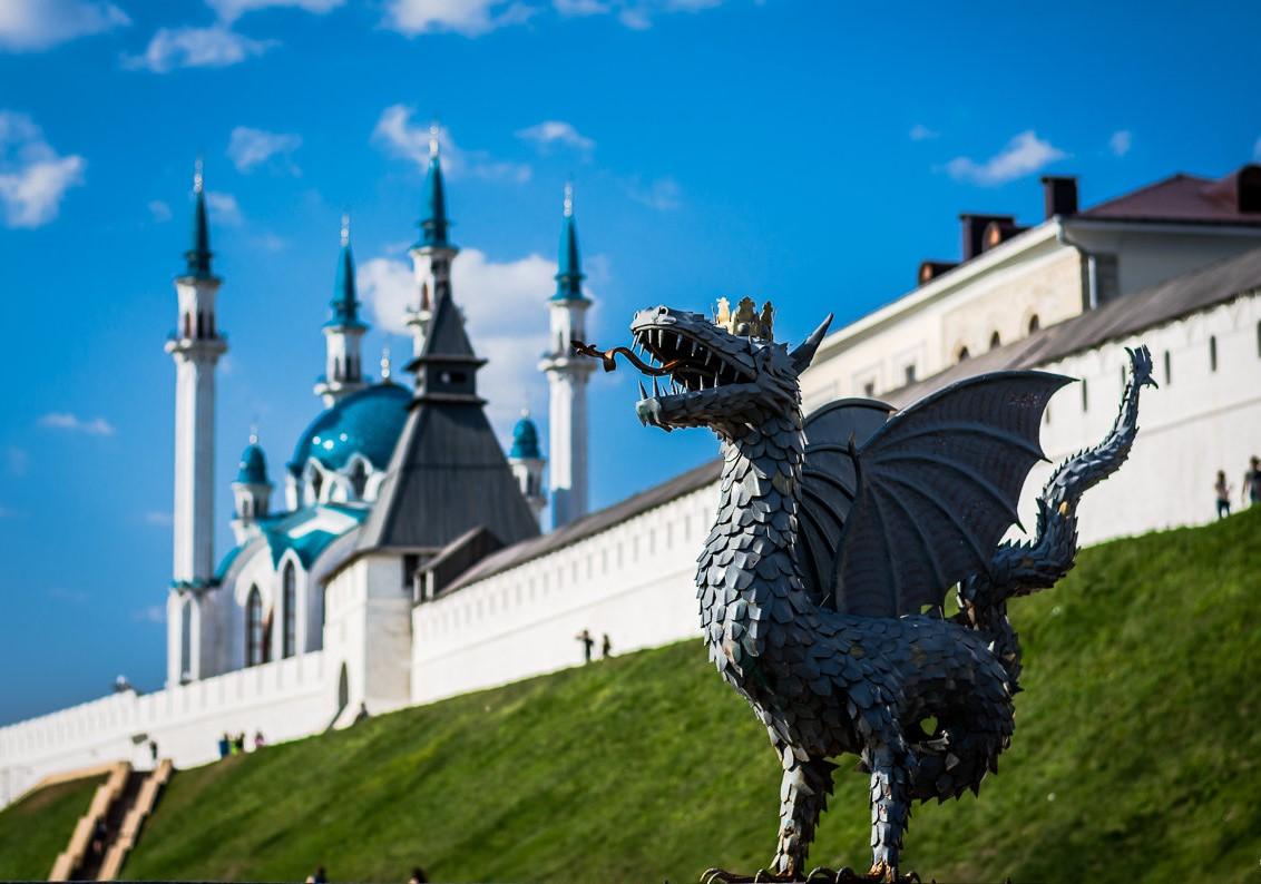 Казанский дракон Зилант