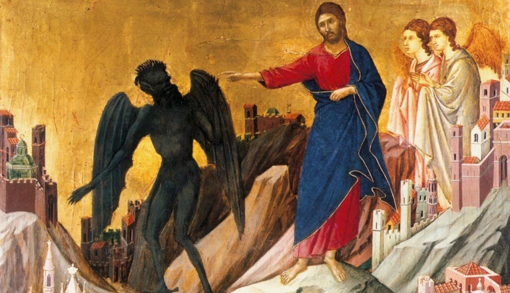 Иисус и бес