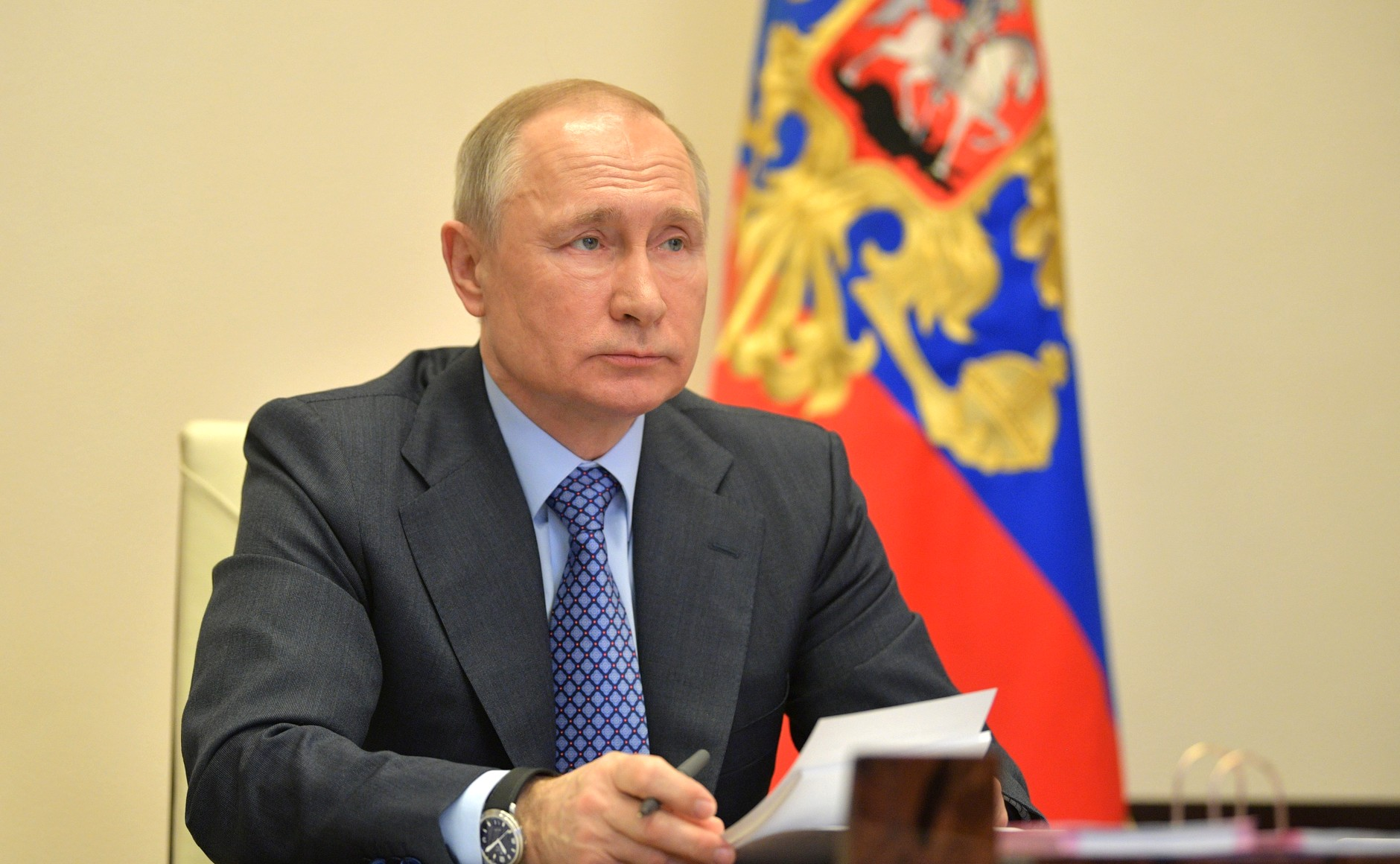 Владимир Путин на встрече членов Высшего Евразийского экономического совета
