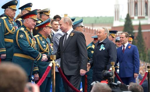 Президент России на параде Победы