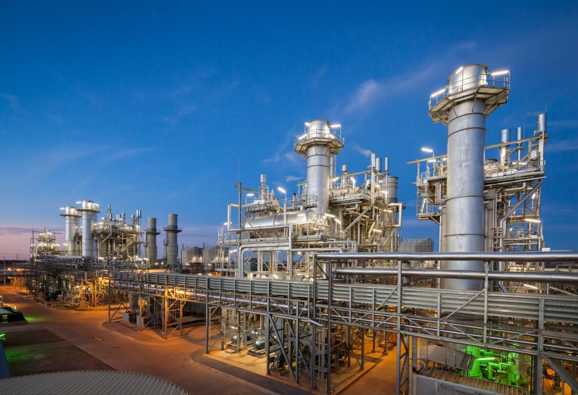 Газовая электростанция
