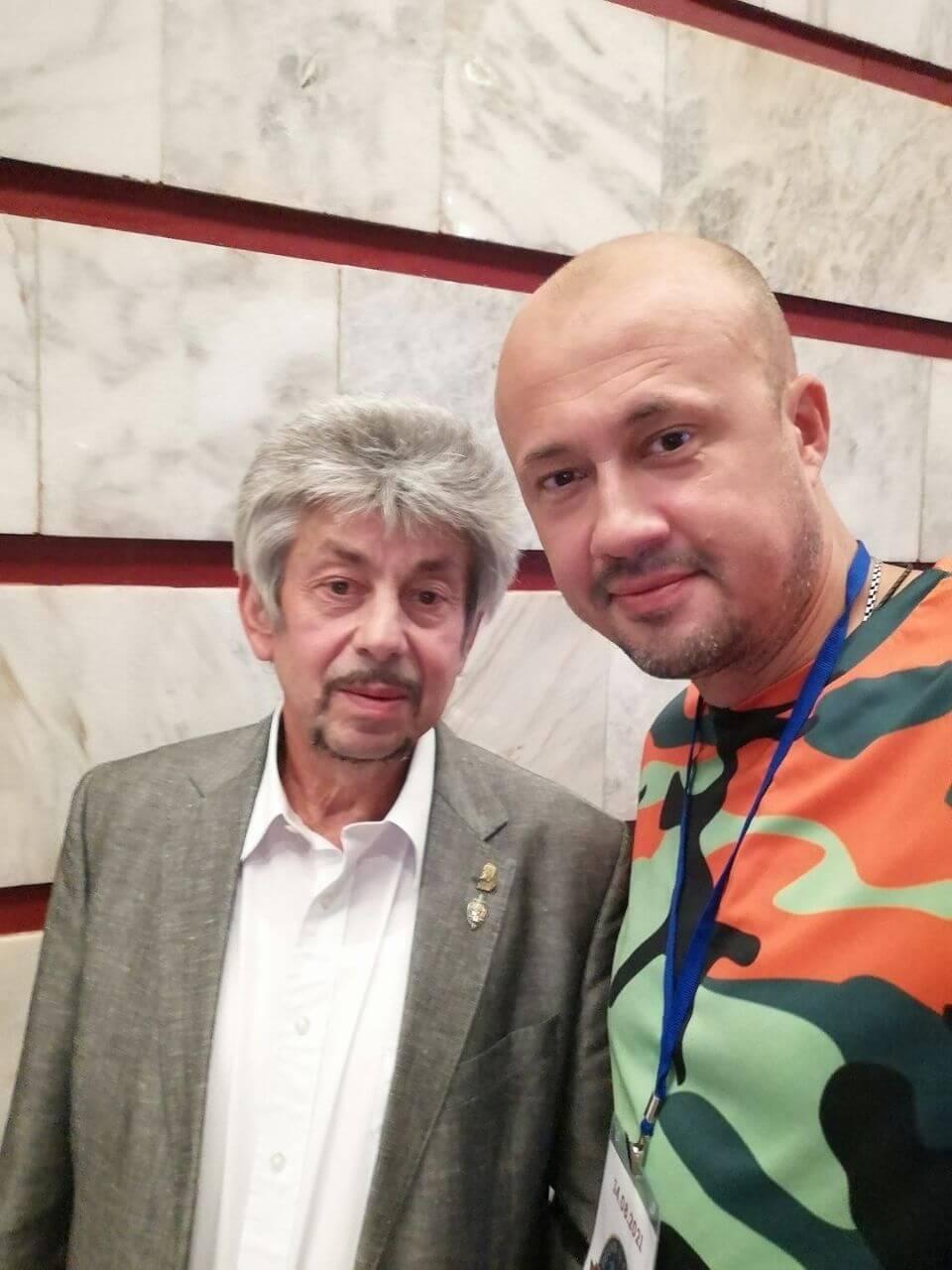 С правнуком Фелиска Дзержинского - Фото: Сергей Рыжик / Русская Планета