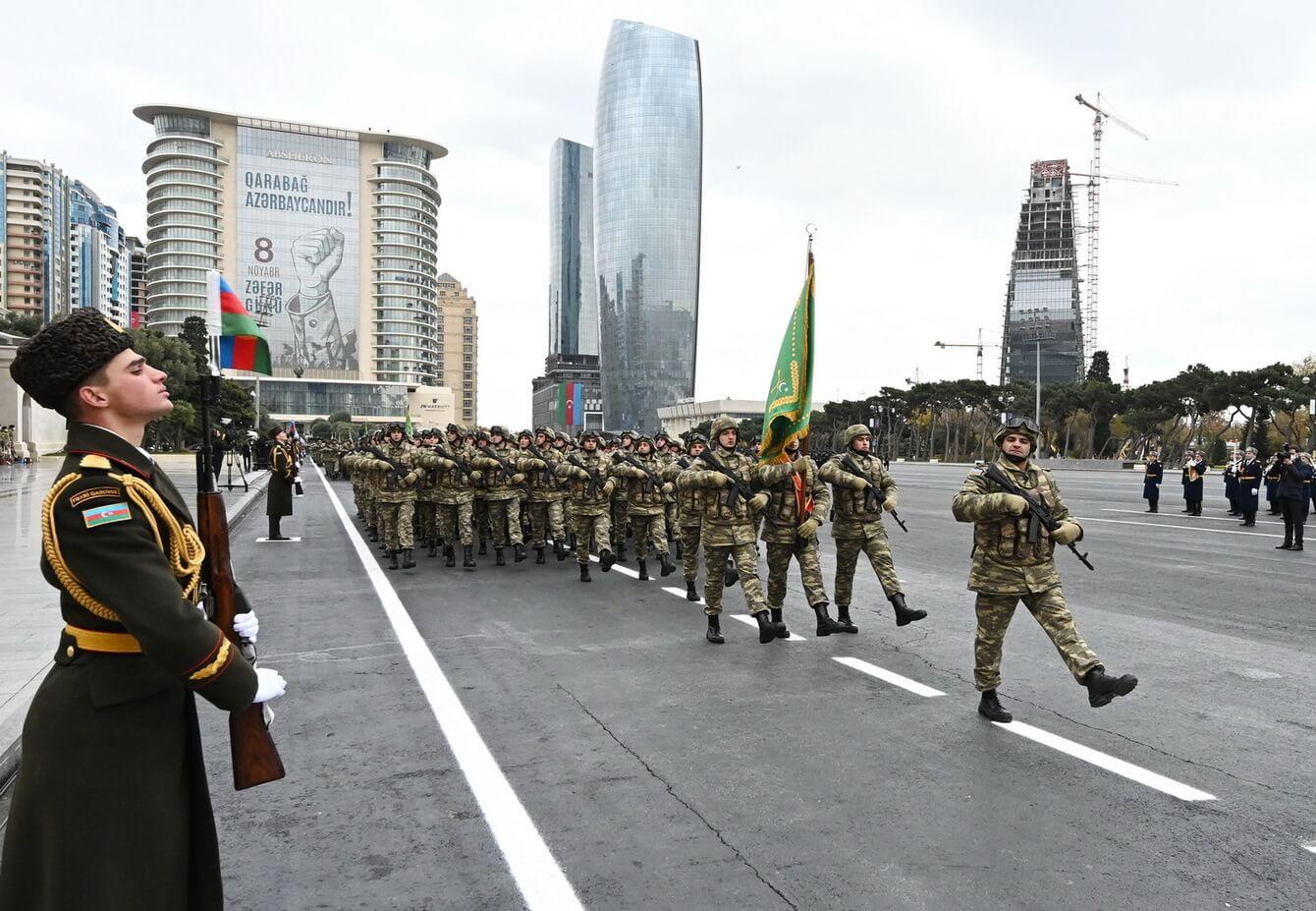 Парад Победы в Азербайджане