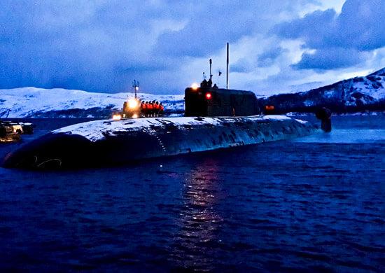 Атомная подводная лодка СФ Б-534 «Нижний Новгород» проекта 945А «Кондор» выполнила задачи дальнего похода и вернулась в базу