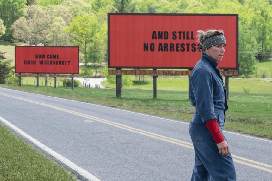 скриншот к\ф «Три билборда на границе Эббинга, Миссури»
