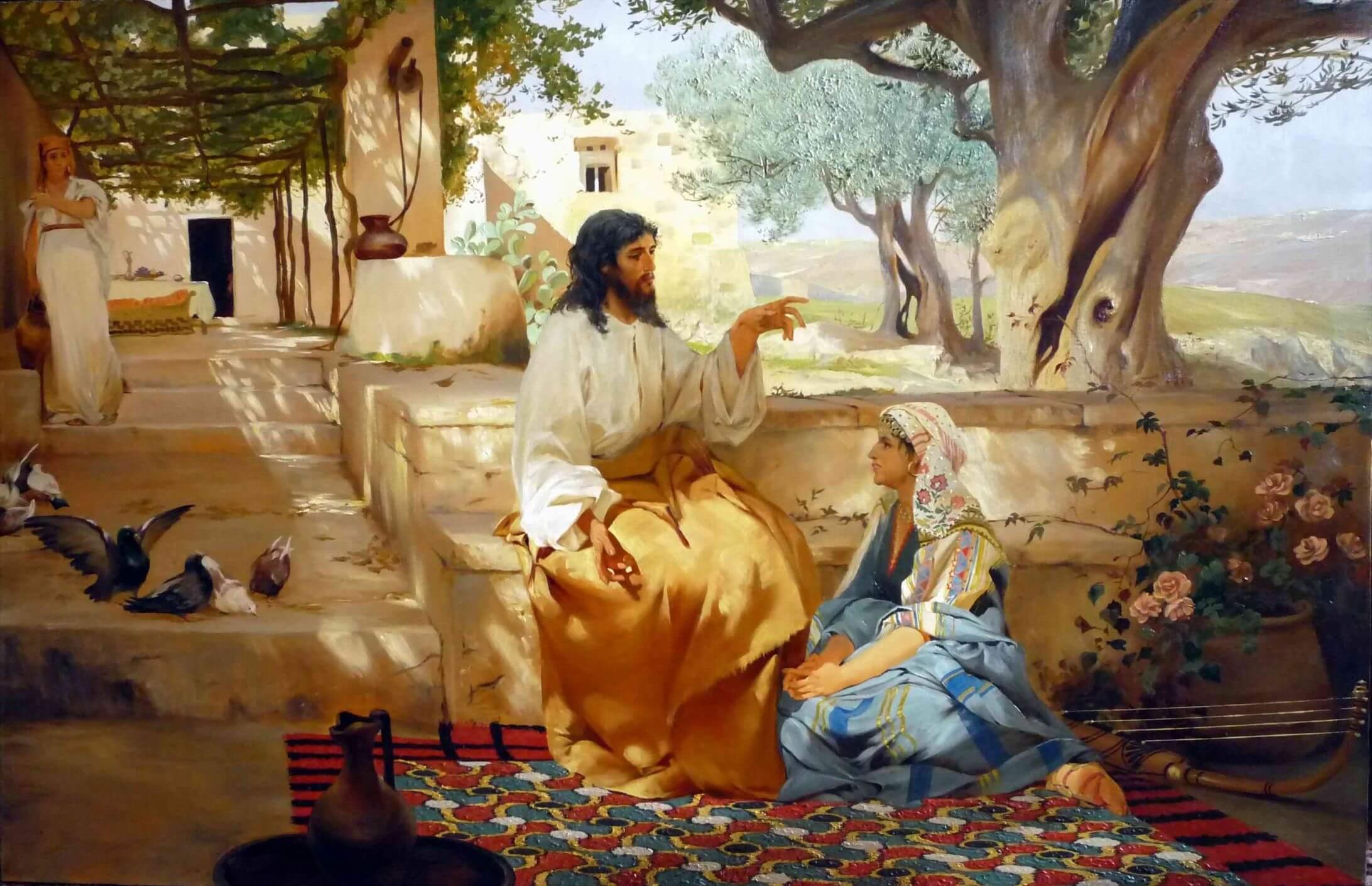 Семирадский Христос