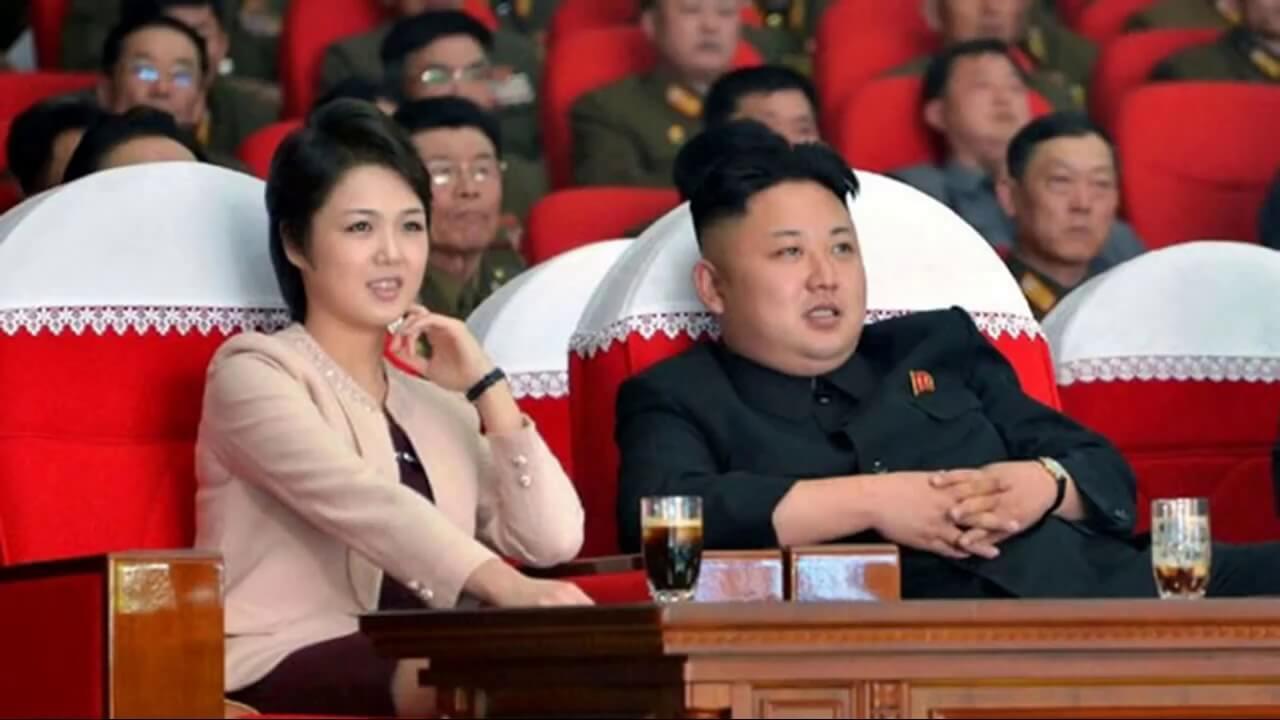 Ли Соль Чжу и Ким Чен Ын