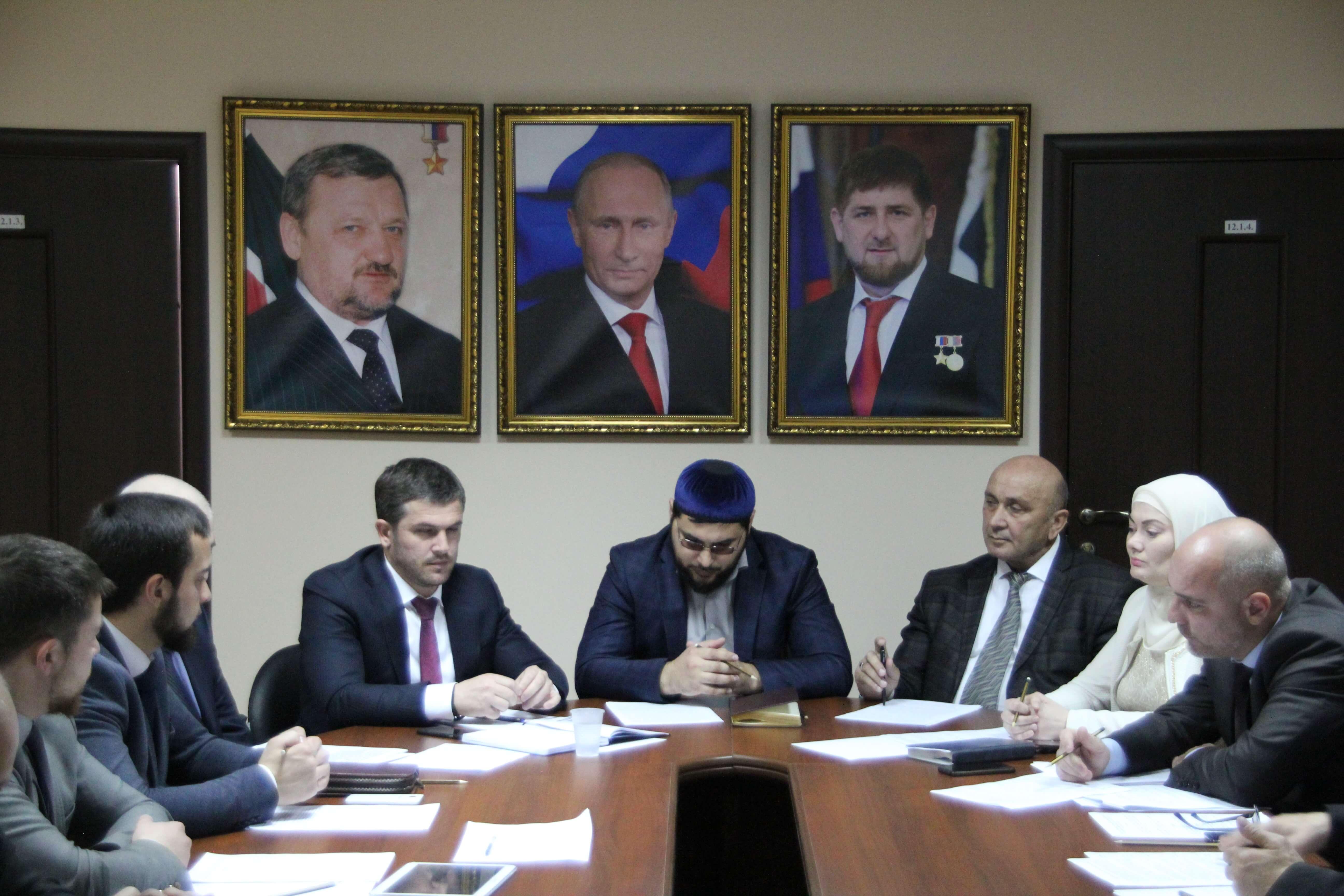 Семинар в Чечне