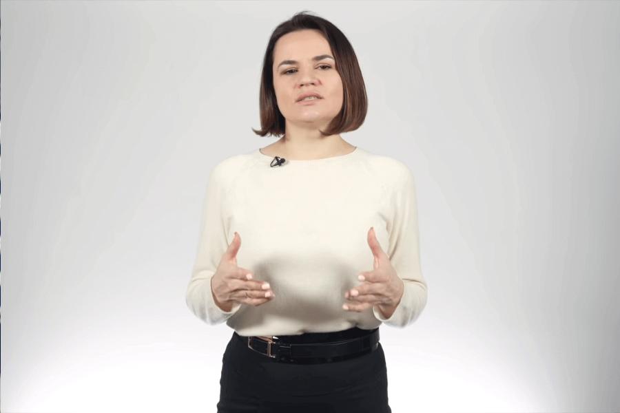 Youtube / Светлана Тихановская