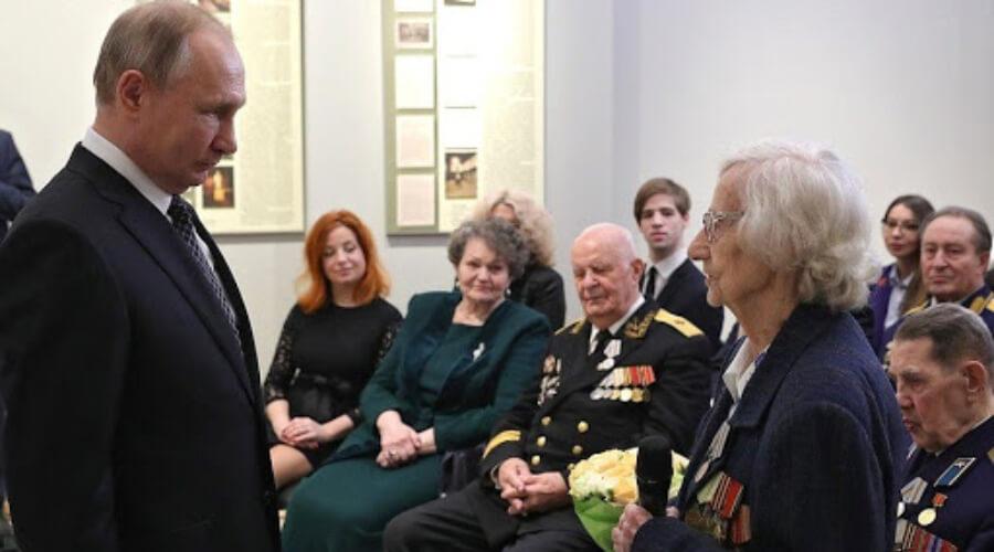 Встреча Владимира Путина с ветеранами