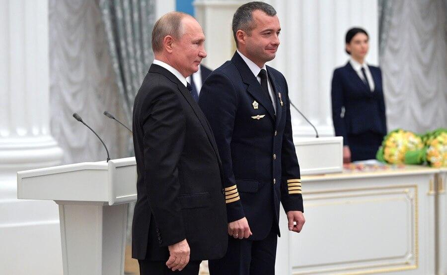 Владимир Путин и Дамир Юсупов