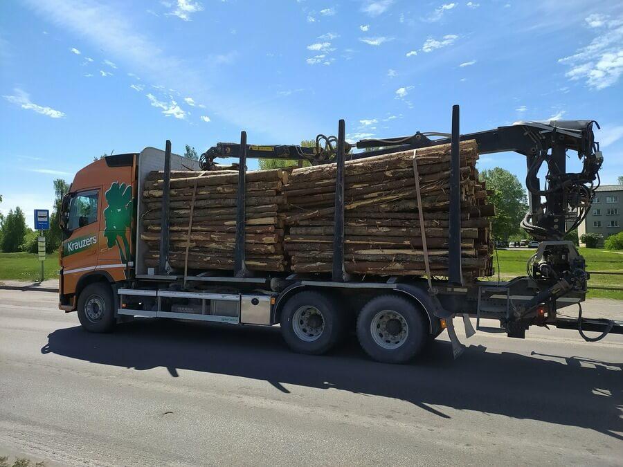 Вывоз леса