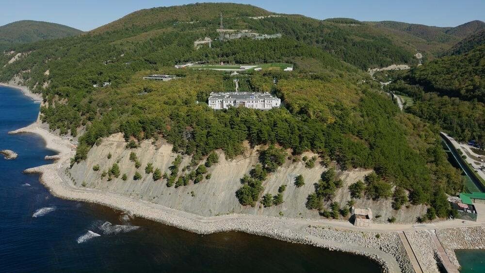 Дворец Путина в Прасковеевке