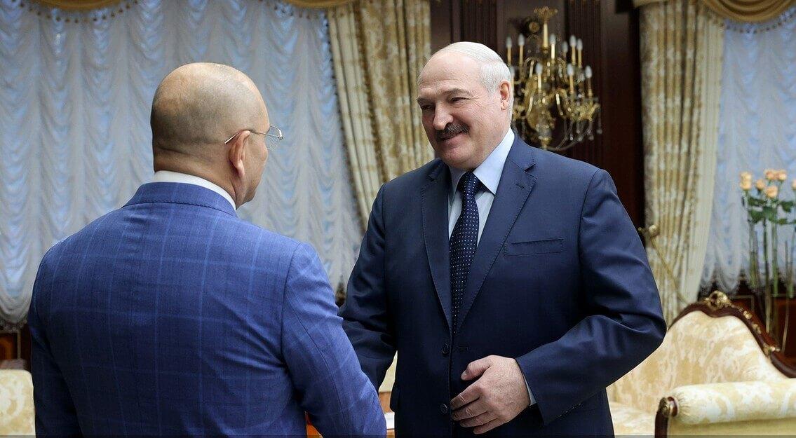Александр Лукашенко и Евгений Шевченко