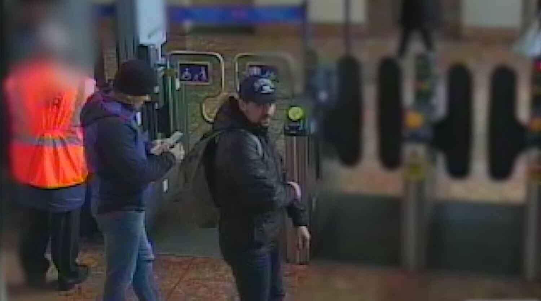 Стопкадр подозреваемых в отравлении Сергея Скрипаля