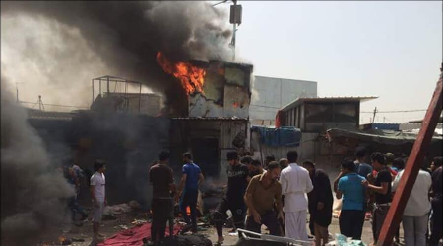 Двойной теракт произошел на многолюдном рынке в Багдаде