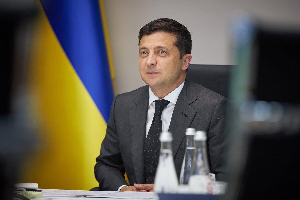 Volodymyr Zelensky/via Globallookpress.com