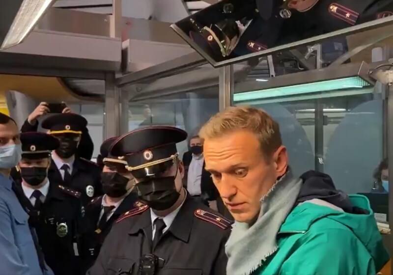 Возвращение Алексея Навального