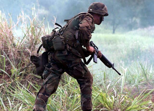 Военный США