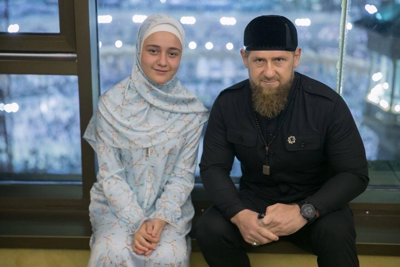 Рамзан Кадыров с племянницей Хеди Закриевой