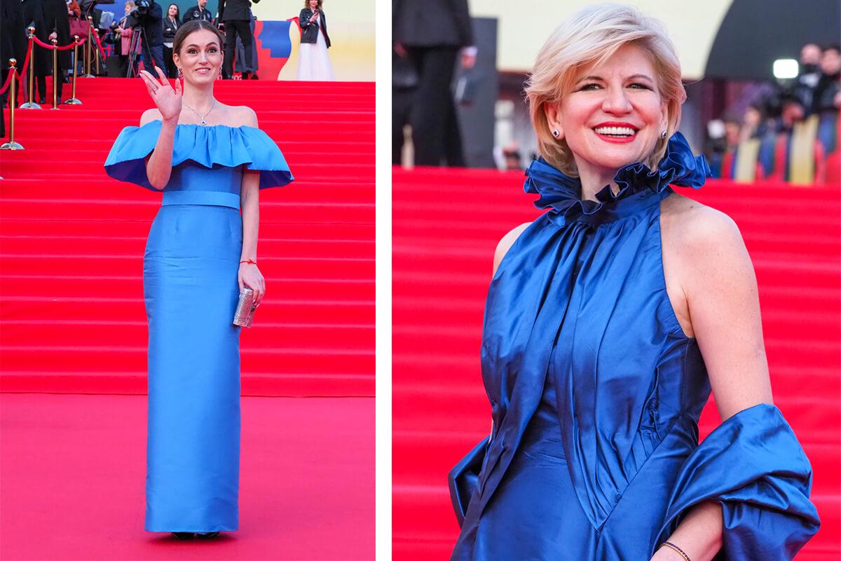 Слева: актриса Рената Пиотровски. Фото: Елена Горбачева