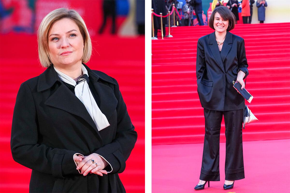 Справа - министр культуры Ольга Любимова. Фото: Елена Горбачева