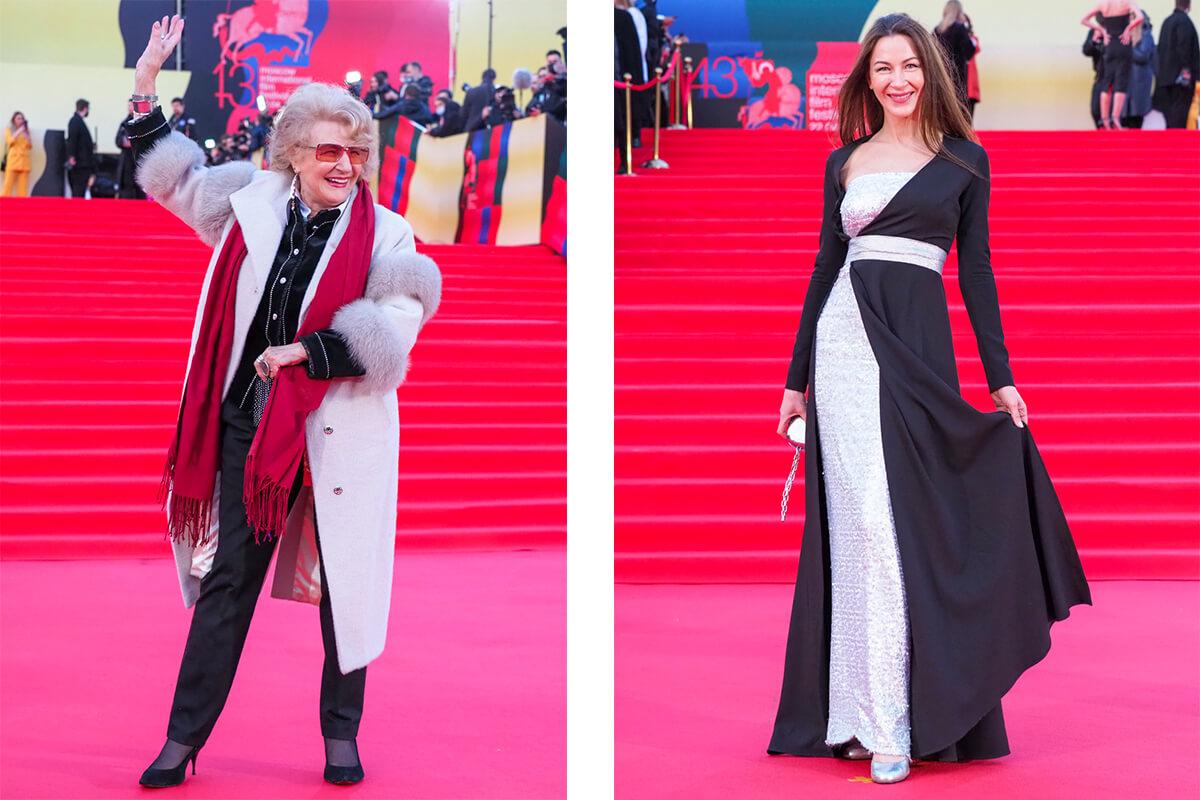 Светлана Дружинина и Екатерина Директоренко. Фото: Елена Горбачева