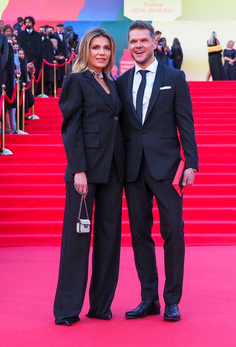 Актер Владимир Яглыч с женой Антониной Паперной. Фото: Елена Горбачева