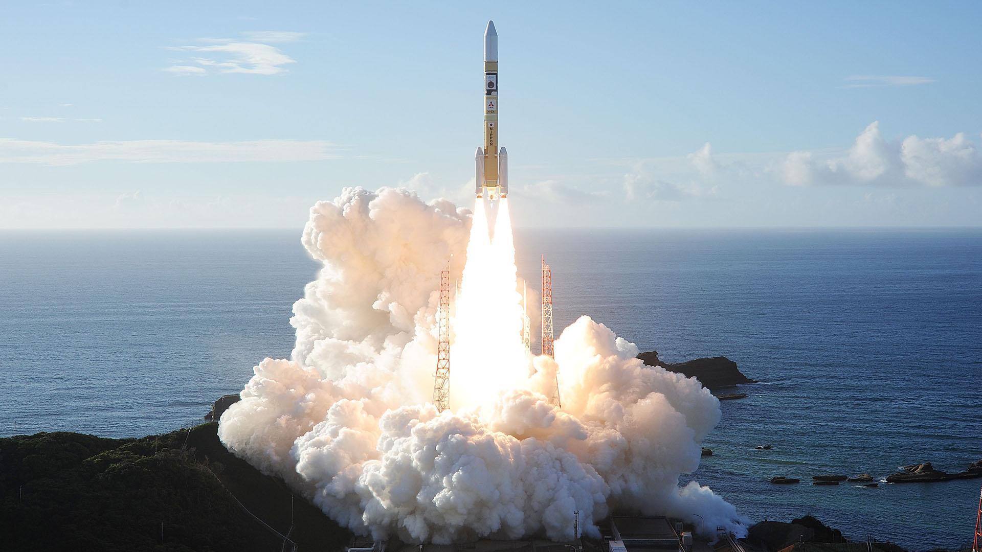 Запуск зонда ОАЭ к Марсу в Японии