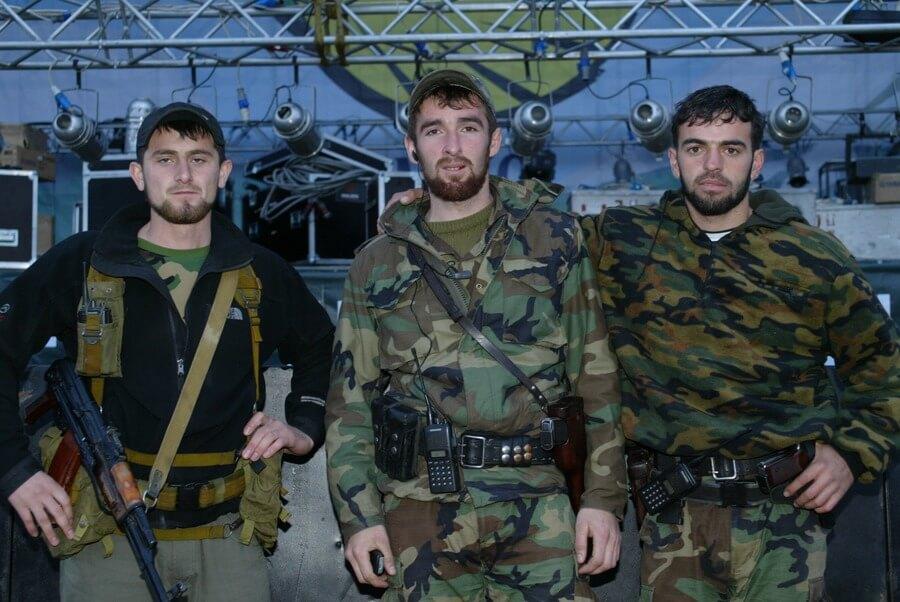 Чеченские правоохранители