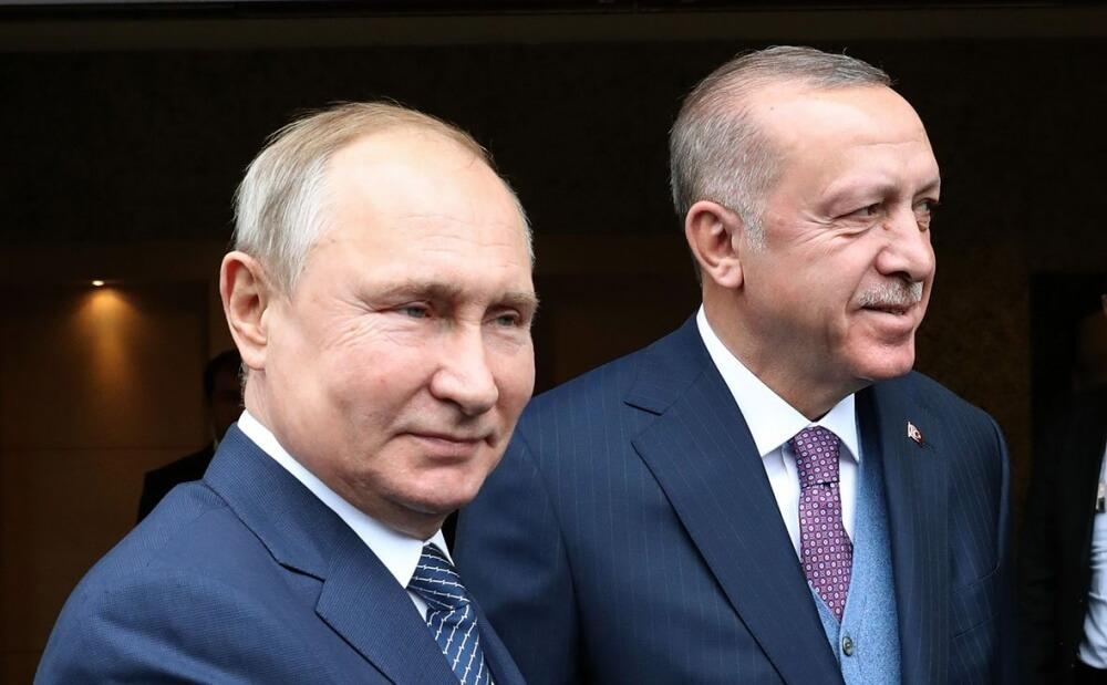 Рейджеп Эрдоган и Владимир Путин