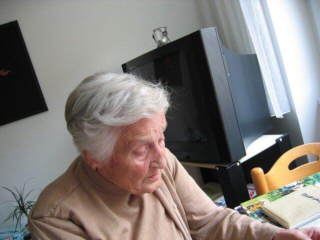 Пожилой человек
