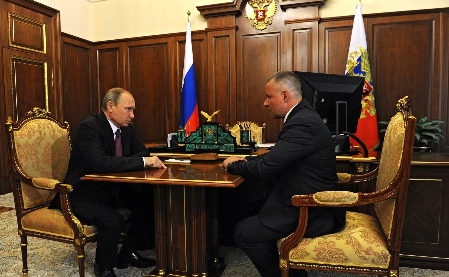 Путин и Зиничев