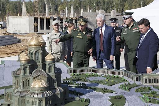 Проект главного храма Минобороны РФ