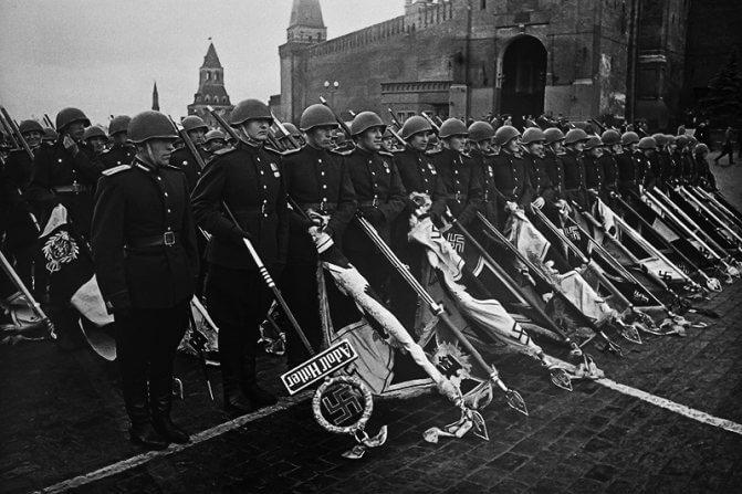 Красная площадь, 1945 год
