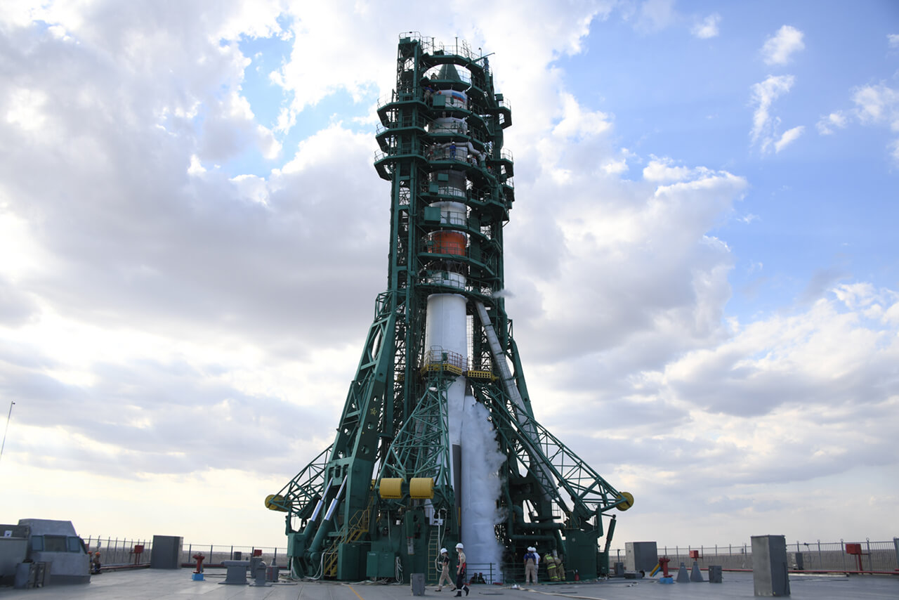 Пуск ракеты-носителя «Союз-2.1а»