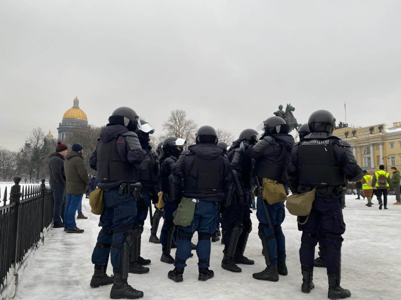 Митинг в Санкт-Петербурге