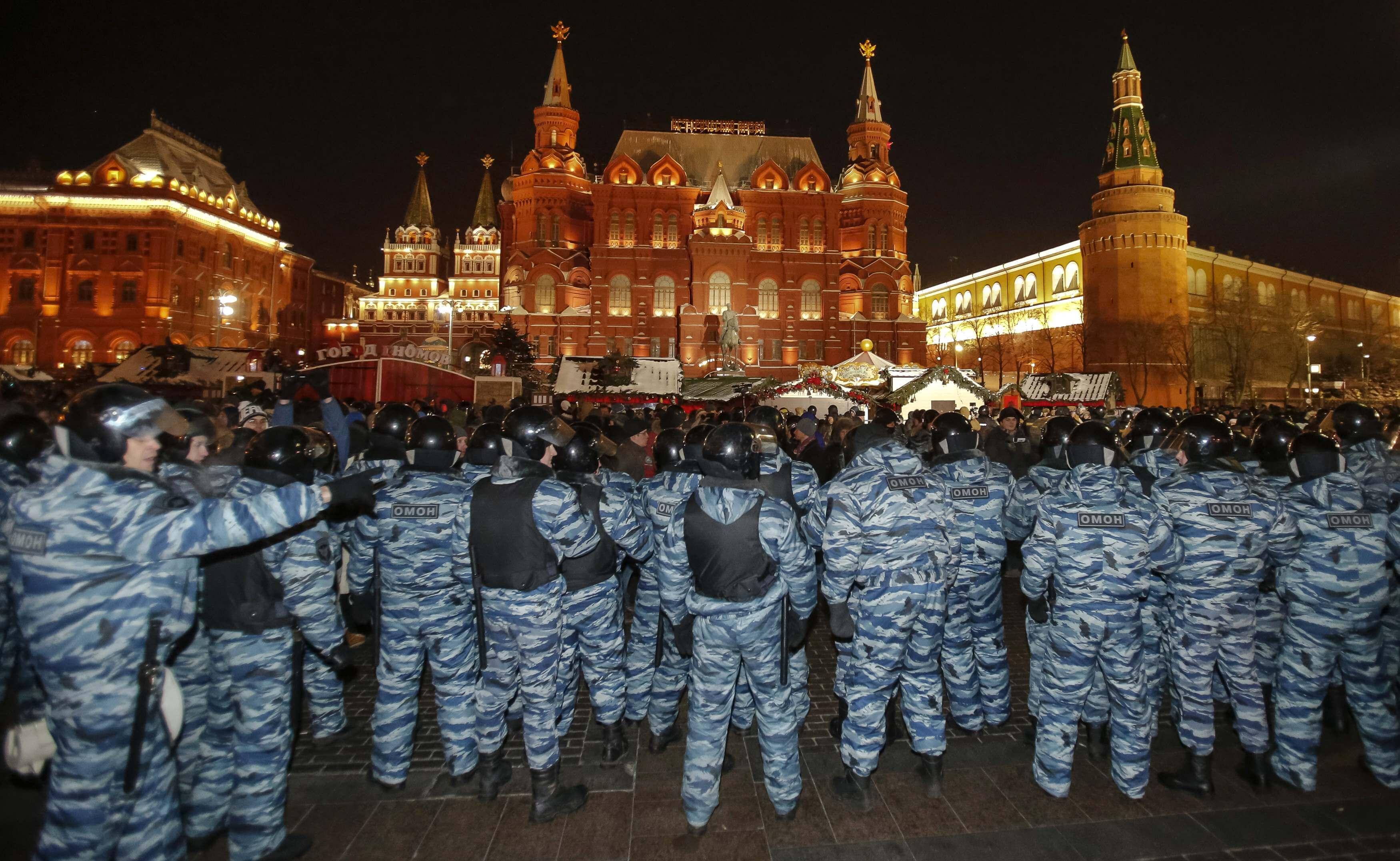 Москва. Митинги 23 января