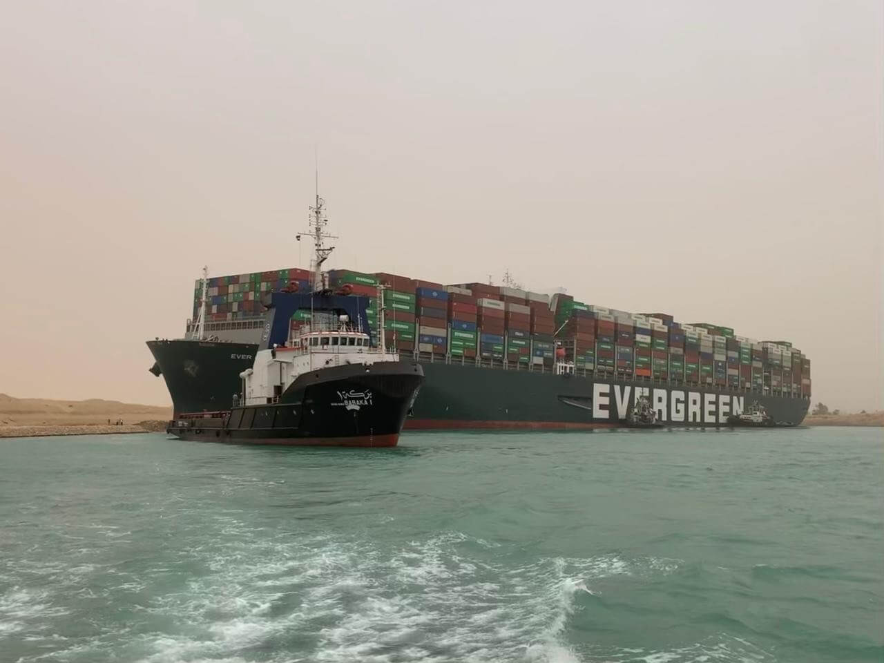 Suez Canal Head Office/ Xinhua / GlobalLookPress