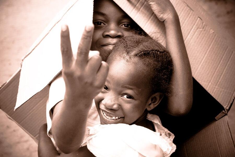 Дети в Конго