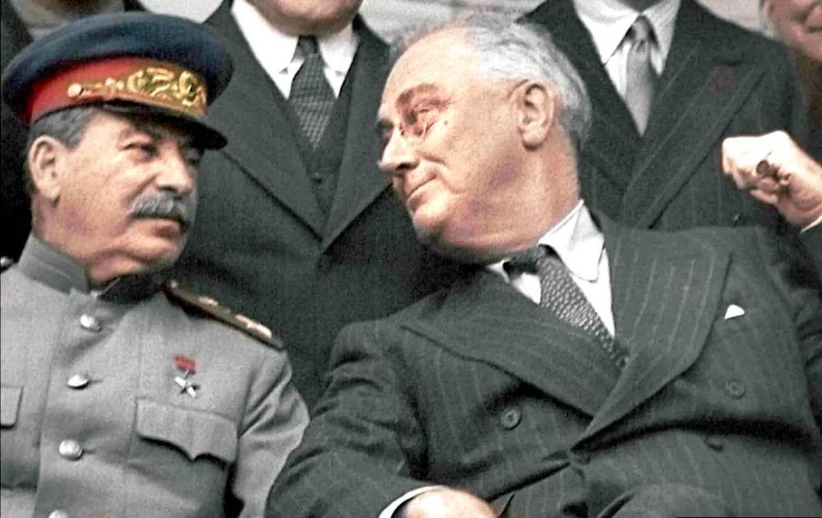 Сталин и Рузвельт