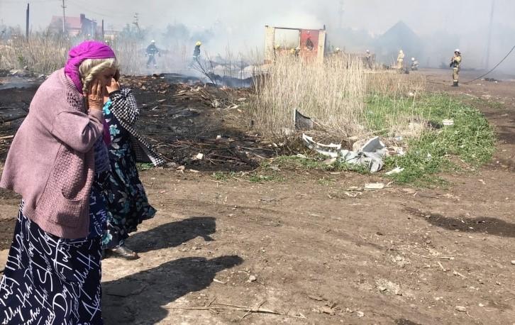 Цыганский поселок под Самарой