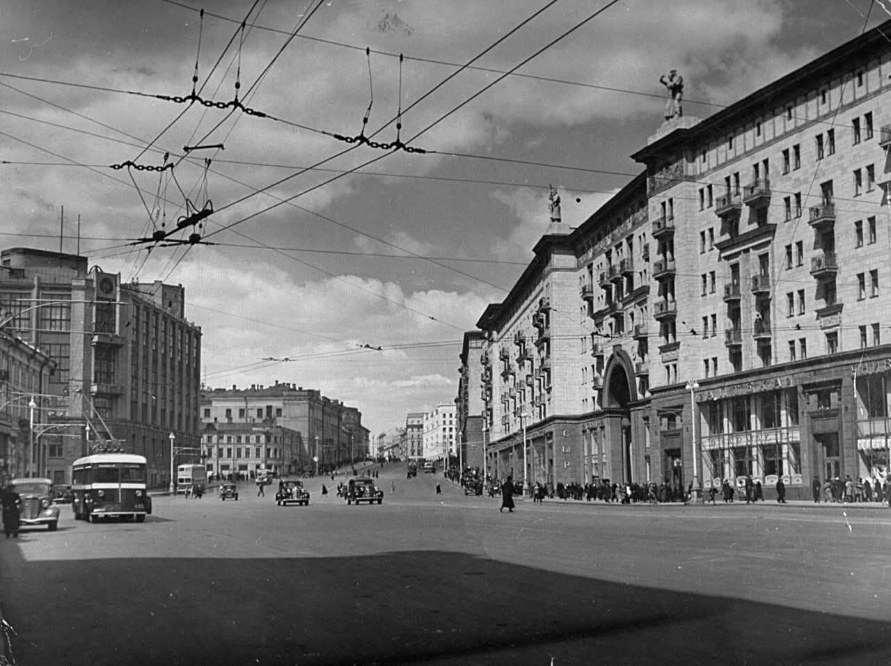 Москва. 1941 год. Фото: Соцсети