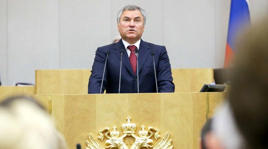 Вячеслава Володина могут снять с выборов в Госдуму за полёты на самолёте в Саратов