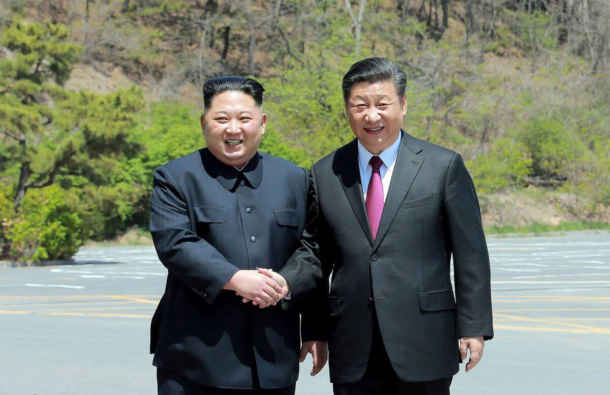 Си Цзиньпин м Ким Чен Ын